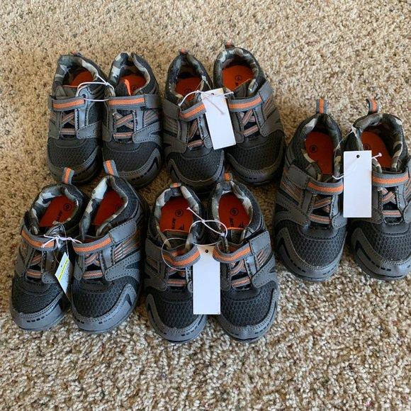 Boys Velcro Sneaker Size